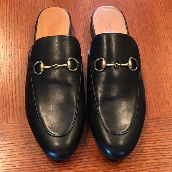 e607e30e794 Gucci Shoes - GUCCI Princetown Leather Slipper Mule